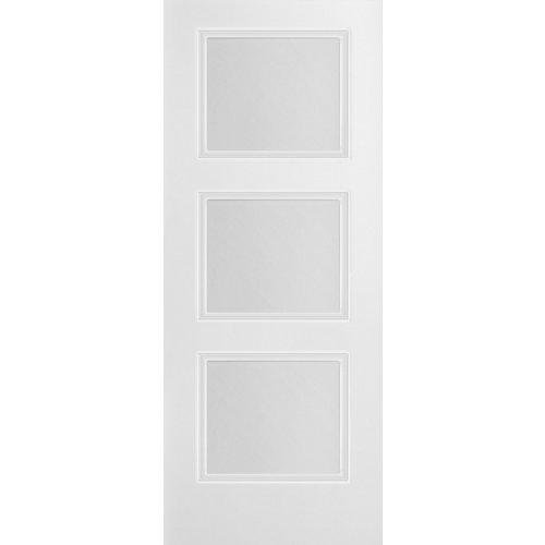puerta mónaco blanco de apertura derecha de 92.5 cm