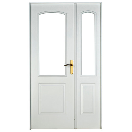 puerta berlin blanco de apertura derecha de 125 cm