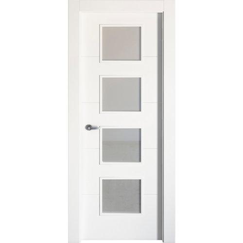 puerta lucerna plus blanco de apertura derecha de 92.5 cm