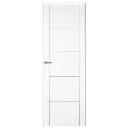 puerta noruega plus blanco de apertura derecha de 82.5 cm