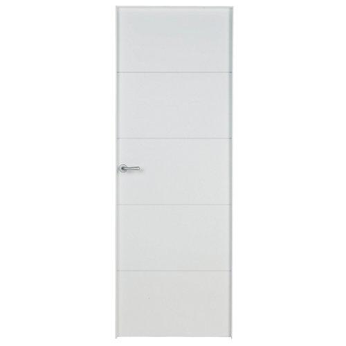 puerta lucerna plus blanco de apertura derecha de 62.5 cm