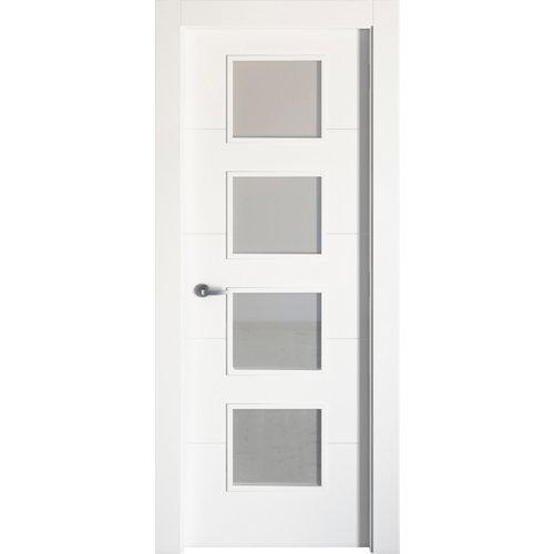 puerta lucerna plus blanco de apertura derecha de 82.5 cm