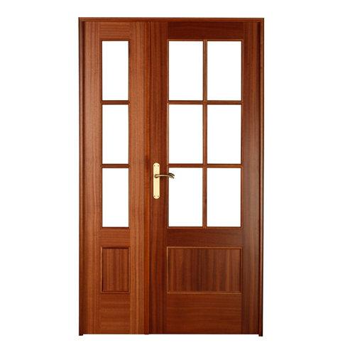 puerta atenas sapelly de apertura derecha de 125 cm