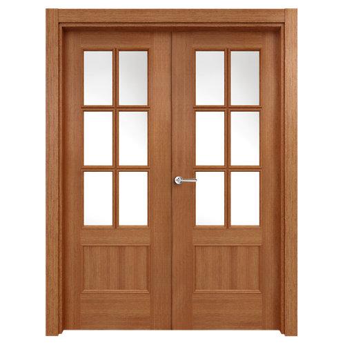puerta atenas sapelly de apertura izquierda de 125 cm