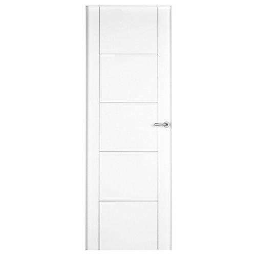 puerta noruega plus blanco de apertura izquierda de 92.5 cm