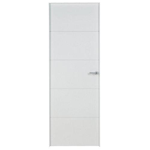 Puerta lucerna plus blanco de apertura izquierda de 62.5 cm
