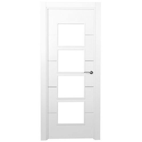 puerta paris blanco de apertura izquierda de 72.5 cm