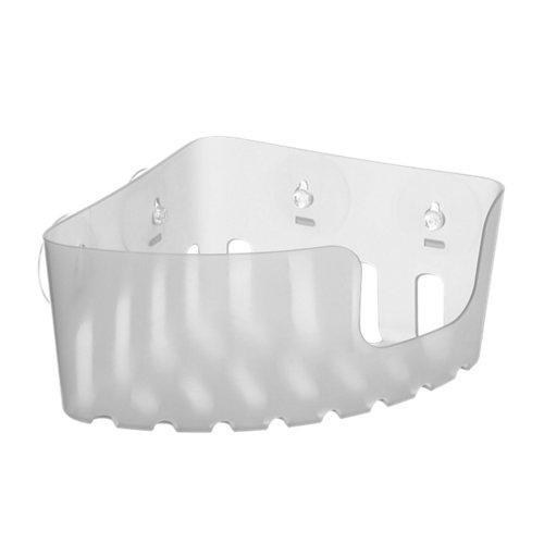 Rinconera ducha standard blanco 20x11x20 cm