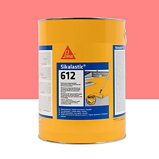 Pintura Impermeabilizante Sika De 5l Rojo Leroy Merlin
