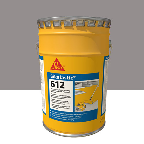 Impermeabilizante líquido sikalastic 612 gris de 15l