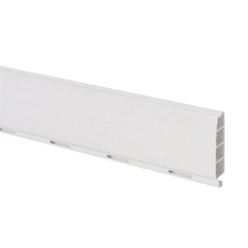 Lama para persiana de pvc blanco de 1500x50x14 mm