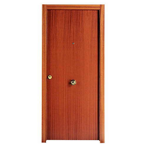Puerta de entrada blindada viena derecha sapelly/roble 85.7x205 cm
