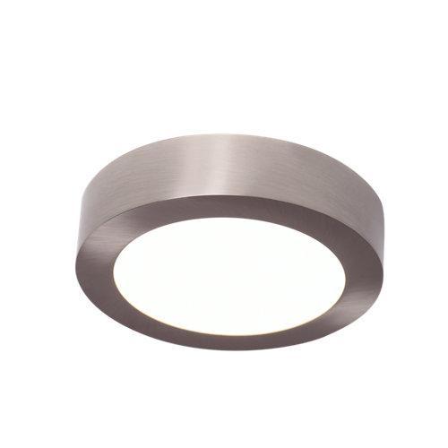 Foco led gris / plata de 10.9w