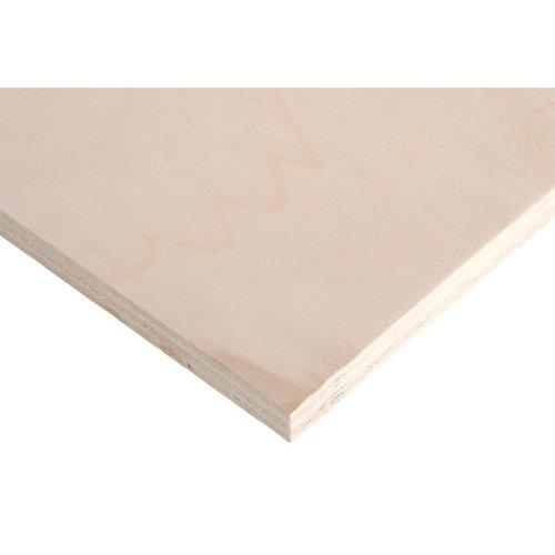 Tablero de contrachapado crudo 122x250x1,5 cm (anchoxaltoxgrosor)