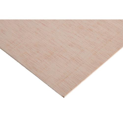Tablero de contrachapado crudo 122x250x0,3 cm (anchoxaltoxgrosor)