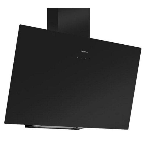 Campana extractora mepamsa display 90 de 712m3/h negro clase a