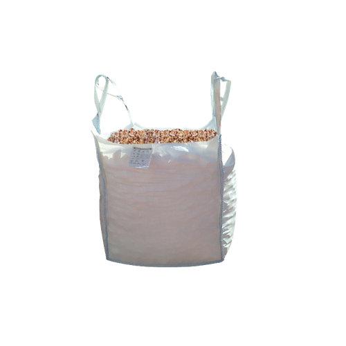 Saco de piedra natural triturada rosa 1000kg 8 y 12 mm