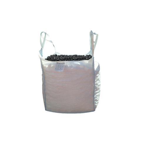 Saco de piedra natural triturada negro 1000kg 8 y 12 mm