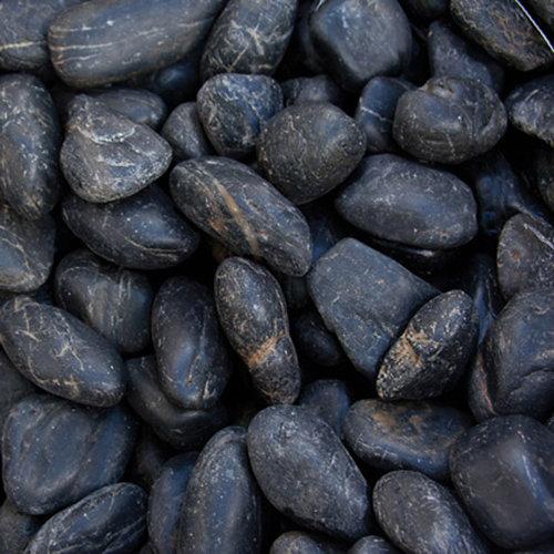 Saco de cantos rodados negro 1000kg 18 y 25 mm