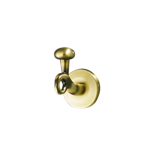 Percha de baño bolero amarillo / dorado brillante
