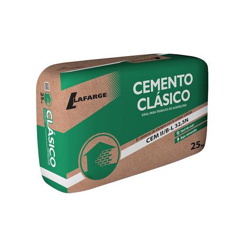 Cemento gris 32,5 lafarge 25 kg