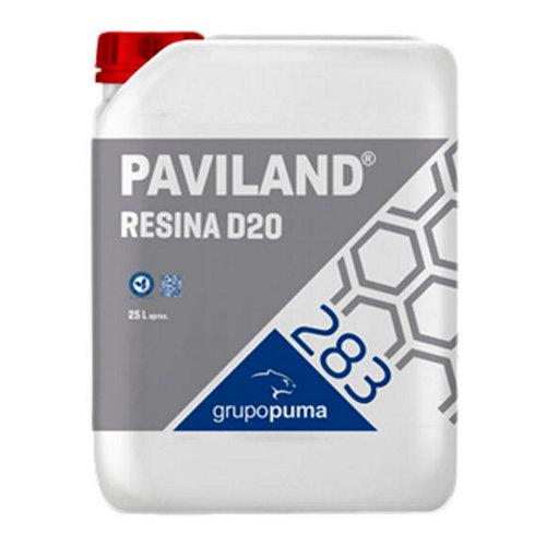 Resina de protección paviland d20 25l