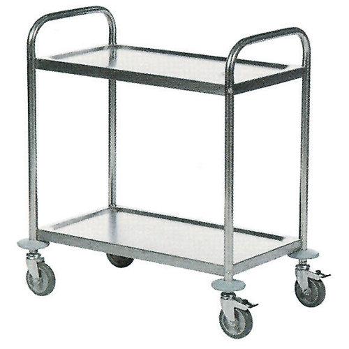 Mesa rodante inoxidable carga 150 kg