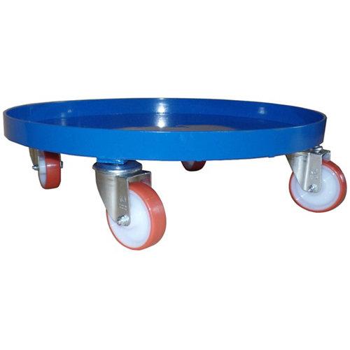 Carretilla rígida con ruedas macizas y 300 kg de carga máxima