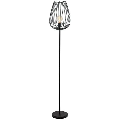 Lámpara de pie newtown negra
