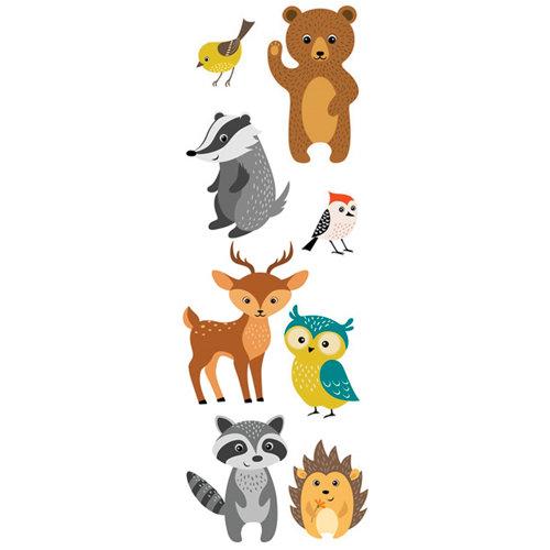 Stickers infantil animales bosque 24x68 cm