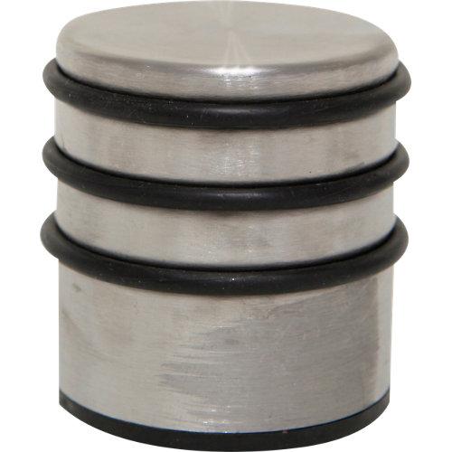 1 tope de puerta gris 6.6x7.0x6.6 cm