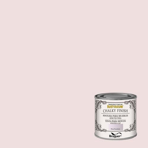 Pintura a la tiza chalky finish rust-oleum 125 ml rosa porcelama