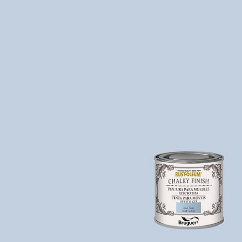 Pintura a la tiza chalky finish rust-oleum 125 ml azul cielo