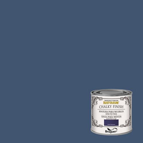 Pintura a la tiza chalky finish rust-oleum 125 ml azul intenso