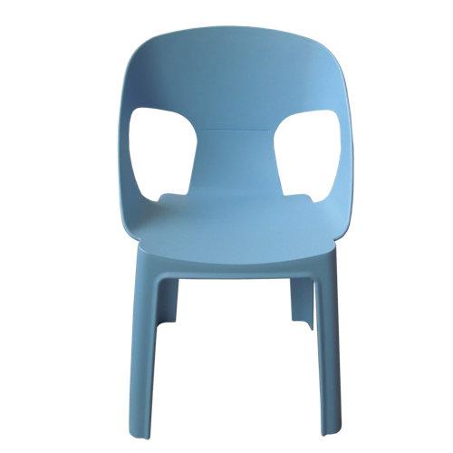 Silla de exterior infantil rita azul 31,4x33x37 cm
