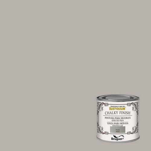 Pintura a la tiza chalky finish rust-oleum 125 ml piedra