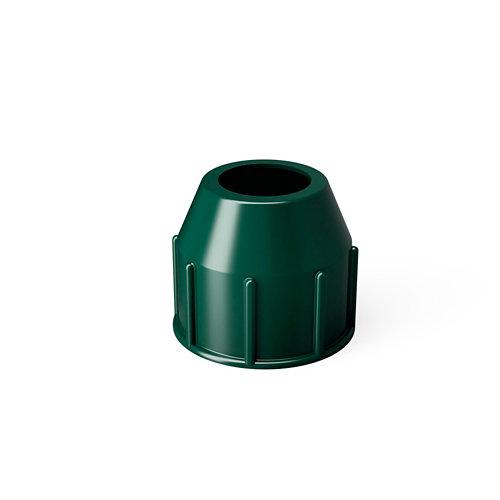 Repuesto de tubo roscado para pie de parasol verde 16/21 kg
