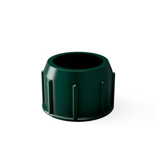 Repuesto de tubo roscado para pie de parasol verde 26/36 kg