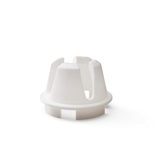 Anillo interior para tubo de pie de parasol blanco 16/21 kg
