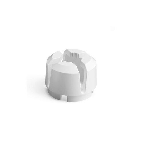 Anillo interior para tubo de pie de parasol blanco 26/36 kg