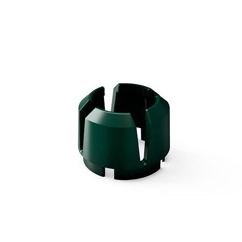 Anillo interior para tubo de pie de parasol verde 26/36 kg