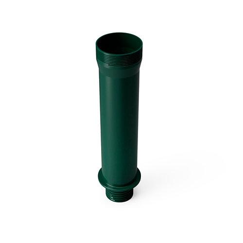 Tubo pie de parasol verde 26/36 kg