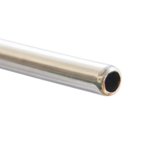 Tubo de cobre cromado ø10 mm 1 metro de longitud