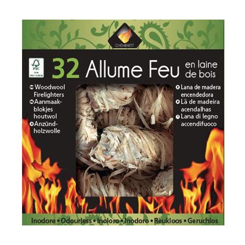 Enciende fuego pyrofeu 32 unidades de llamas de madera