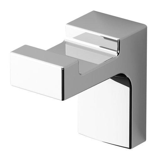 Percha de baño elegance creabath cromo brillo