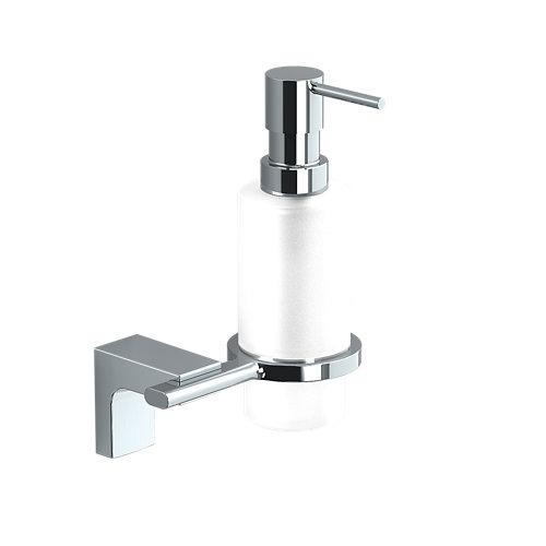 Dispensador de jabón elegance creabath cromo brillo