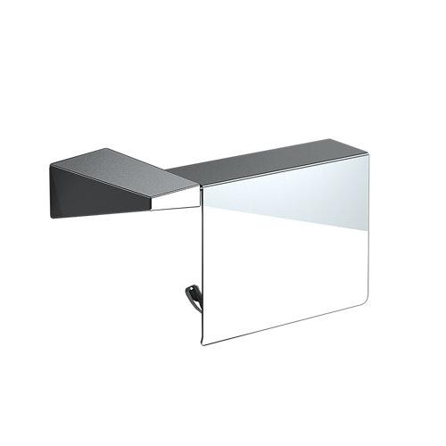 Portarollo wc karisma gris / plata brillante 17.8x9.5x6.5 cm