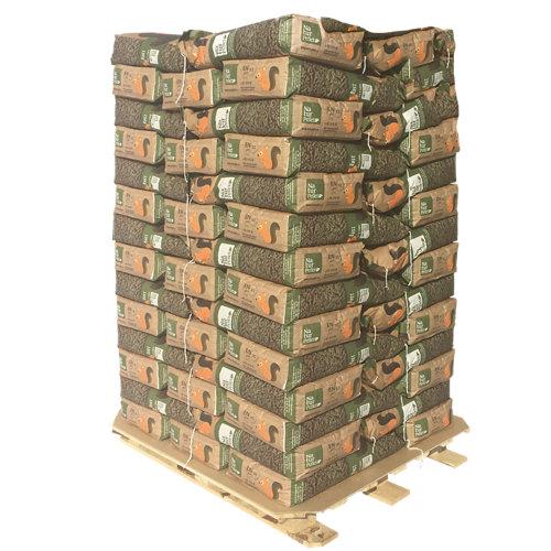 Palet de 70 sacos de pellet naturpellet