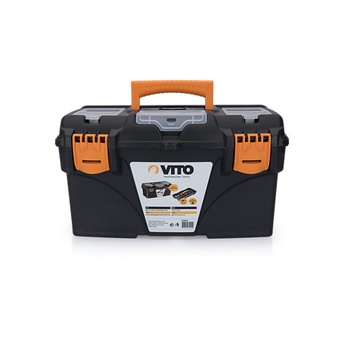 Caja de herramientas vito con capacidad de litros