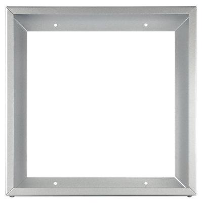 Perfil superficie plata 30x30